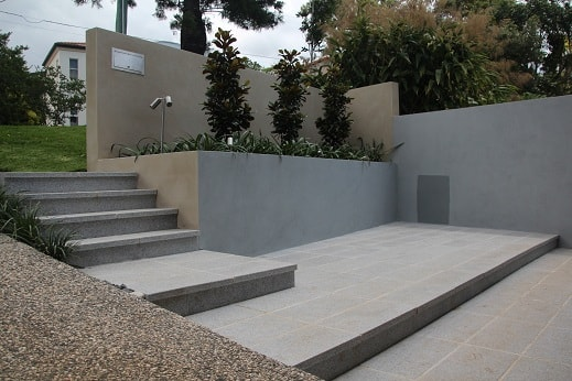 Block walls and Granite Paving St Lucia